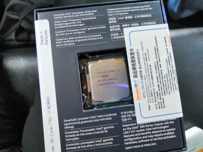 The Intel Core i7-8086K (часть 1) - 2