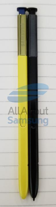 Фотогалерея дня: стилус Samsung Galaxy Note9 и сравнение со стилусом Samsung Galaxy Note8