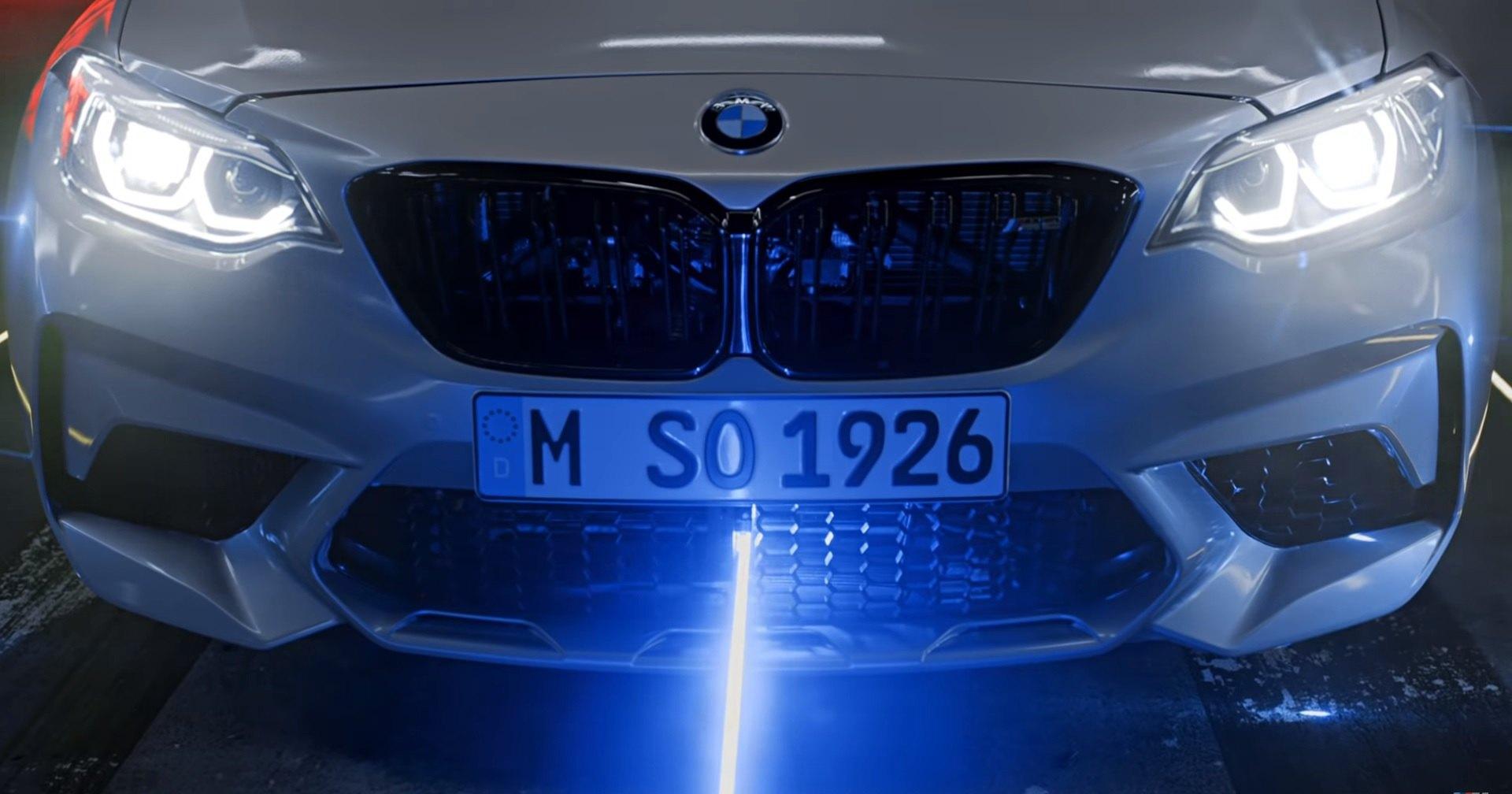 BMW побила рекорд по уничтожению шариков лазером