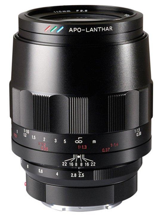 Начало поставок объектива Voigtlander Macro APO Lanthar 110mm f/2.5 с креплением Sony E откладывается на неопределенный срок