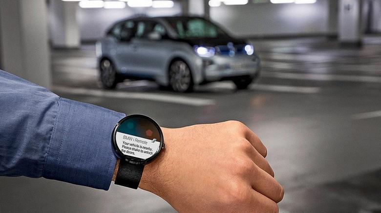В следующем году на рынок выйдут умные часы BMW