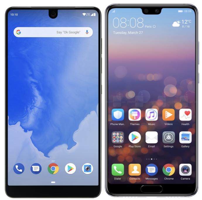 Google считает, что две «моноброви» — это максимум, который может быть в смартфоне с Android