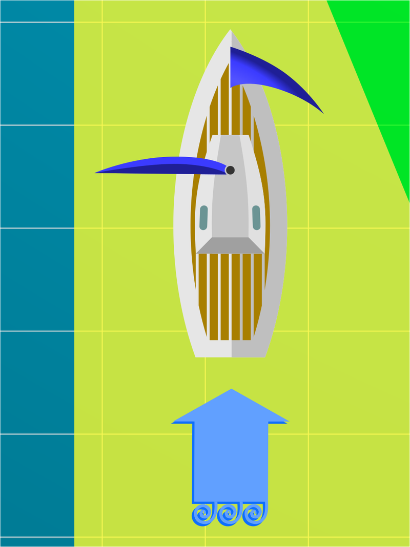 Как парусники ходят против ветра?