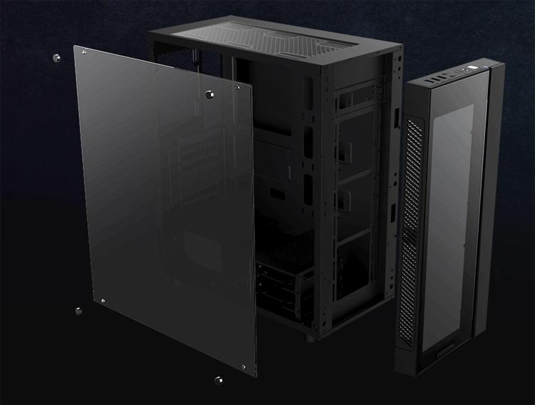 Deepcool Matrexx 55: эффектный корпус для игрового ПК
