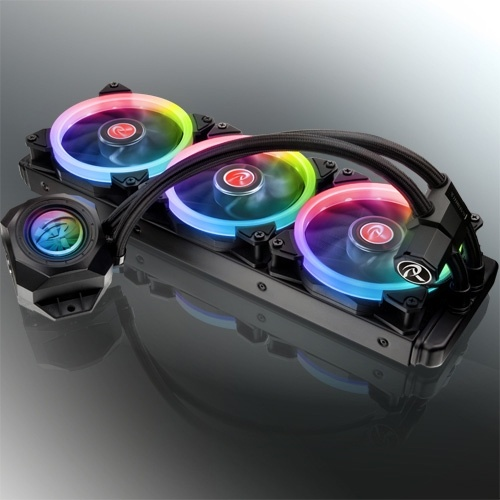 Новая статья: Система жидкостного охлаждения Raijintek ORCUS 360: эффективность под радугой