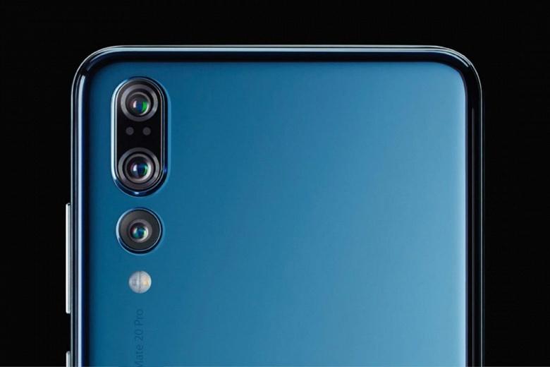 Huawei Mate 20 Pro приписывает тот же набор камер, который предлагает Huawei P20 Pro