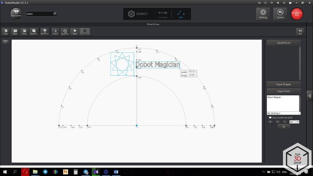 Обзор настольного робота DoBot Magician - 25