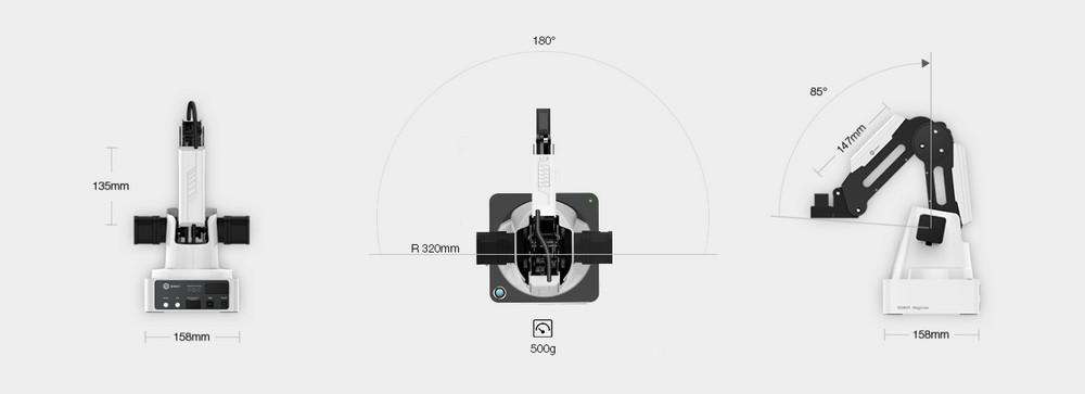 Обзор настольного робота DoBot Magician - 3