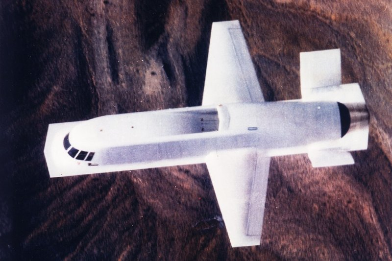 Northrop Tacit Blue: самый необычный самолёт