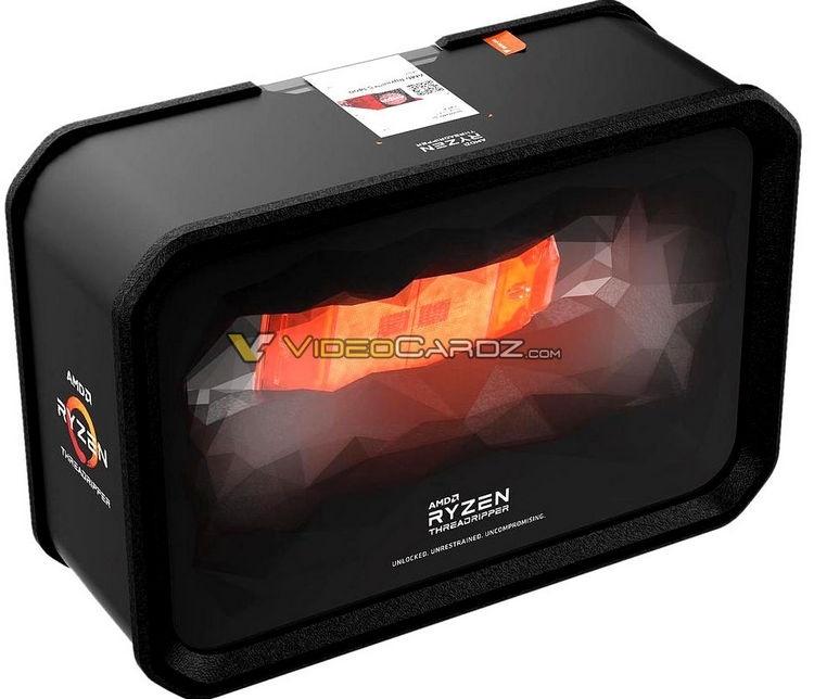 Опубликованы изображения упаковки Ryzen Threadripper 2000