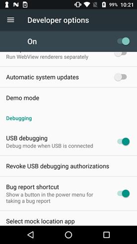 Отключение проверок состояния среды исполнения в Android-приложении - 12