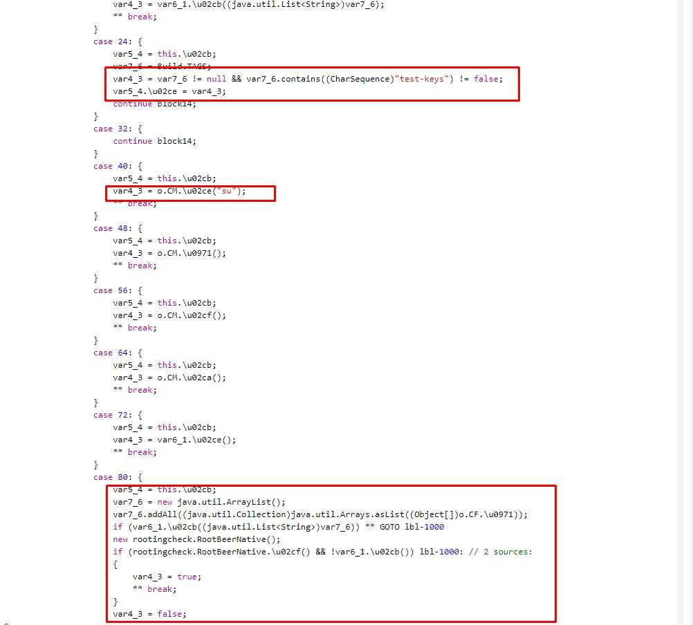 Отключение проверок состояния среды исполнения в Android-приложении - 4