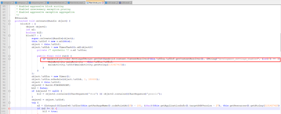 Отключение проверок состояния среды исполнения в Android-приложении - 7
