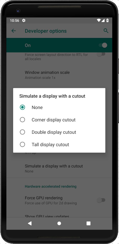 «Поясняем за чёлку» в Android P. Что делать с Android Cutout? - 2