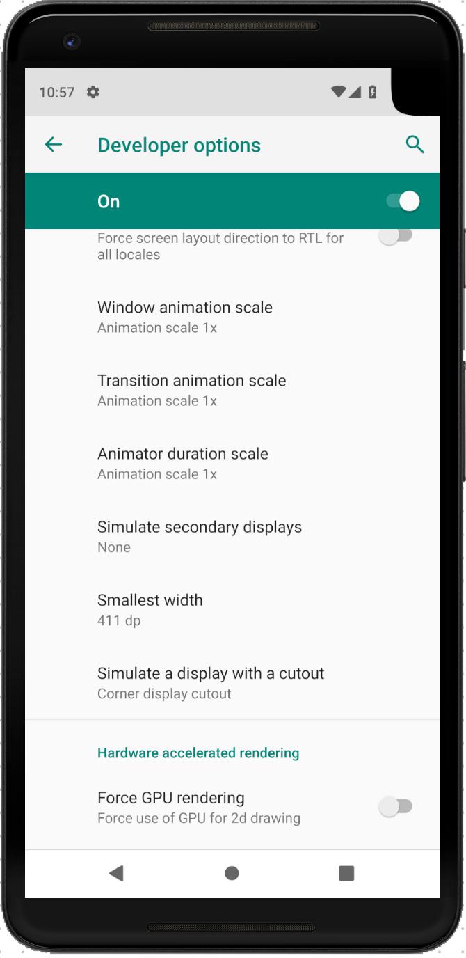 «Поясняем за чёлку» в Android P. Что делать с Android Cutout? - 3