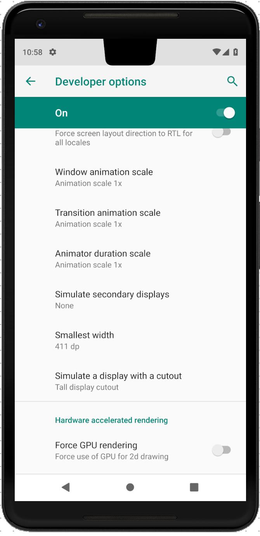 «Поясняем за чёлку» в Android P. Что делать с Android Cutout? - 5