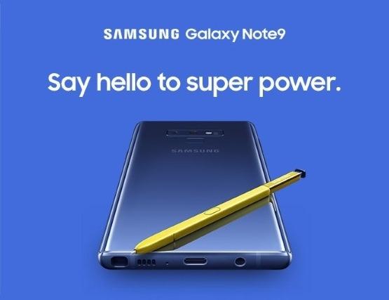Samsung Galaxy Note9 с 512 Гбайт флеш-памяти и жёлтым стилусом засветился в видеоролике