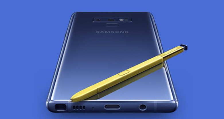 Samsung показала Galaxy Note 9 до анонса