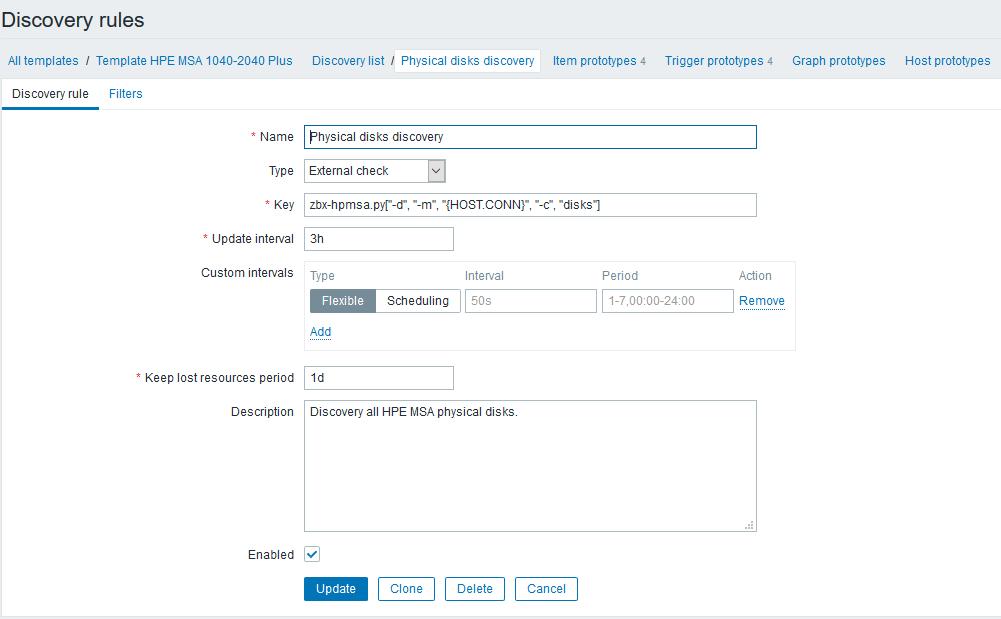 Использование Dependent items в Zabbix 4.0 на примере HPE MSA 2040-2050 - 4