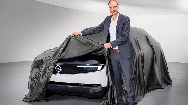 Концепт-кар Opel с новым фирменным дизайном: тизер