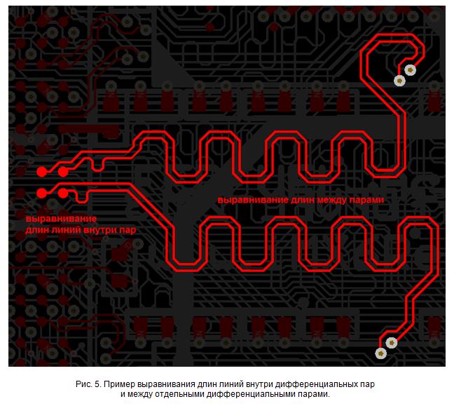 SamsPcbGuide, часть 7: Трассировка сигнальных линий. Дифференциальные пары - 6