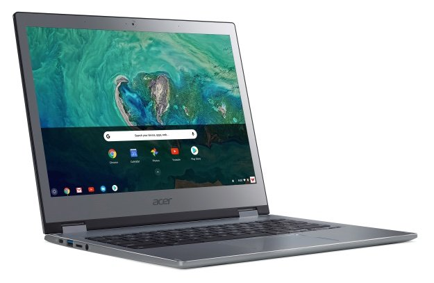 Назван срок начала продаж и цены мобильных ПК Acer Chromebook 13 и Chromebook Spin 13