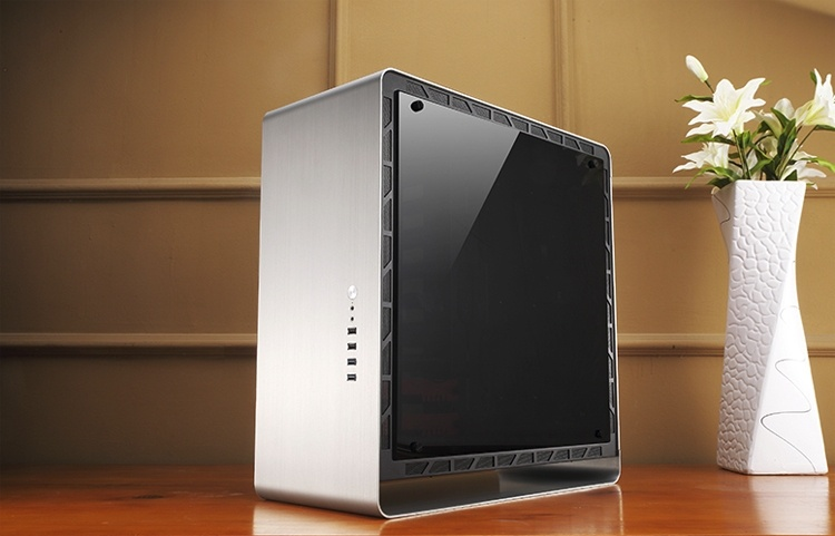 ПК-корпус Jonsbo UMX4 Plus выполнен из алюминиево-магниевого сплава