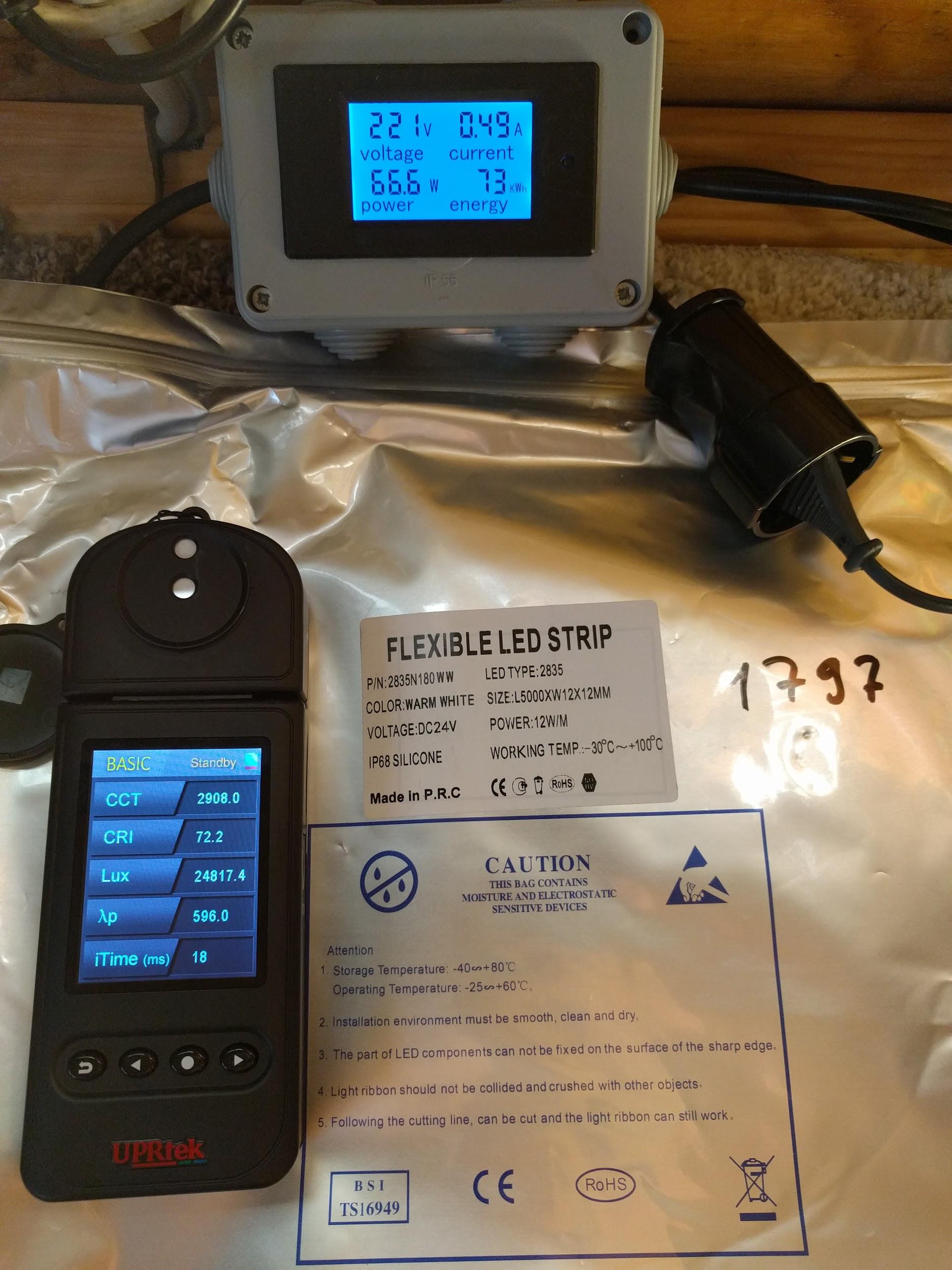Термоленты с классом защиты IP68. Годятся для света в бане - 7