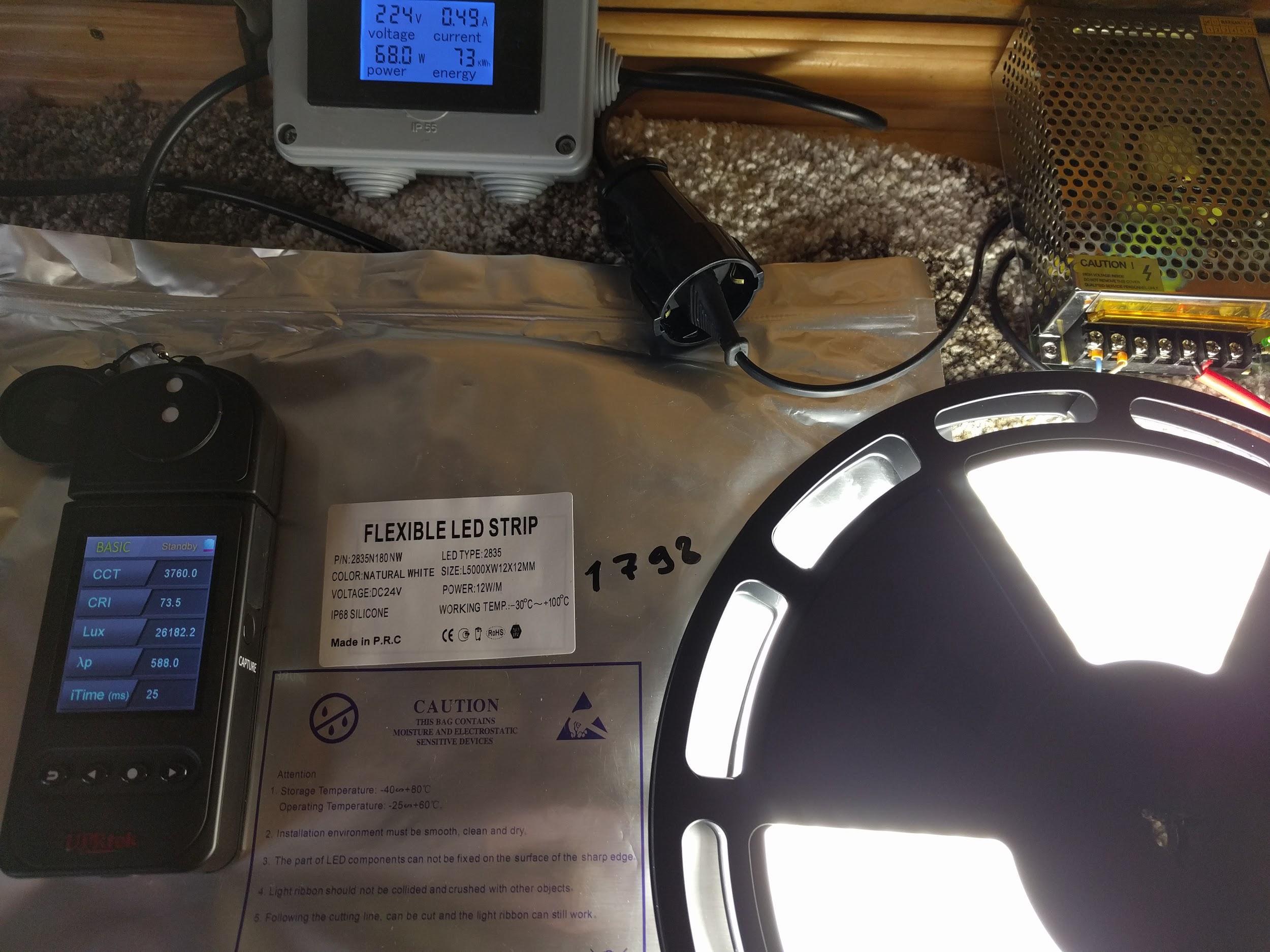 Термоленты с классом защиты IP68. Годятся для света в бане - 9