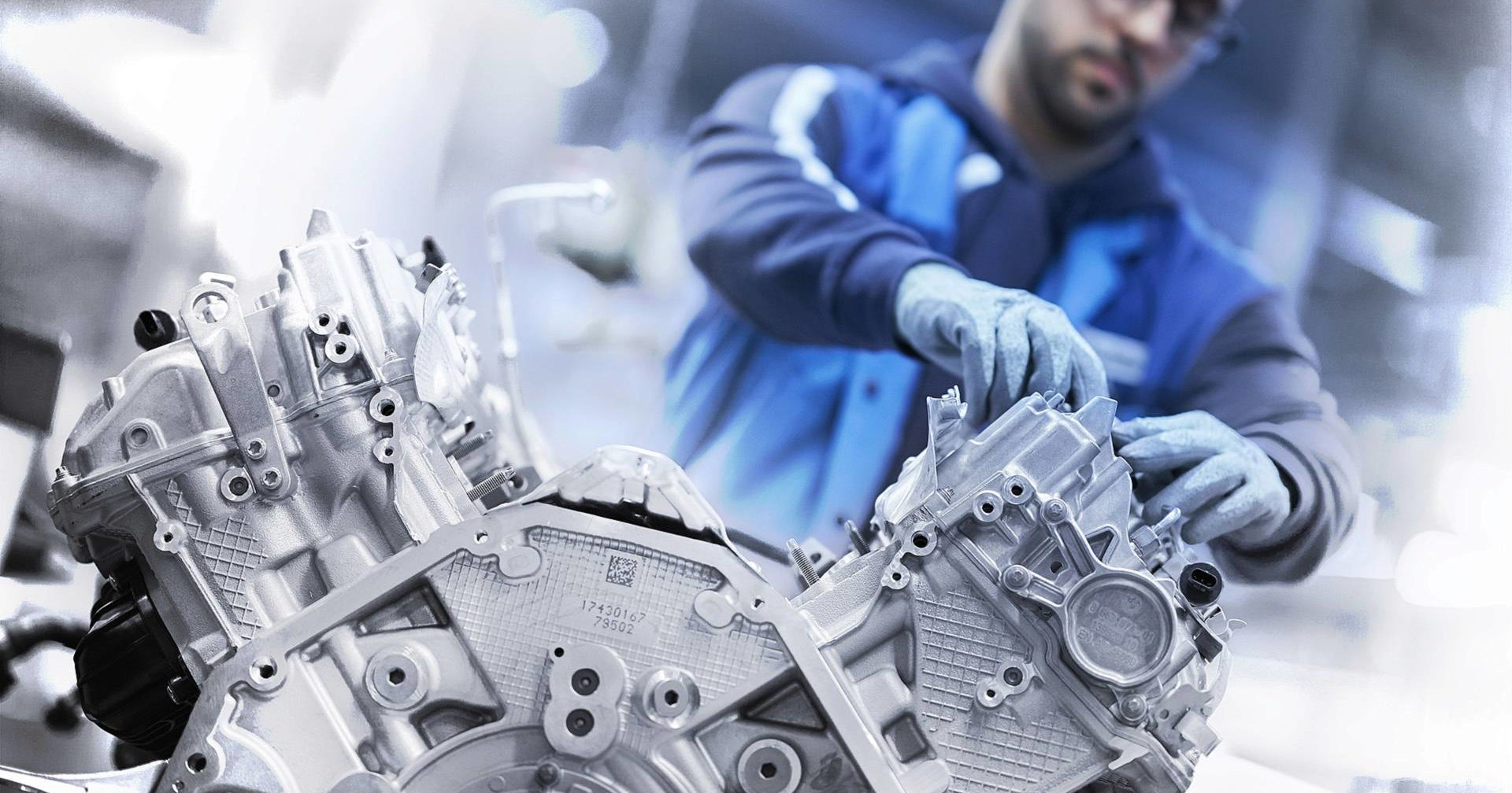 Как делают моторы V8 на заводе BMW?