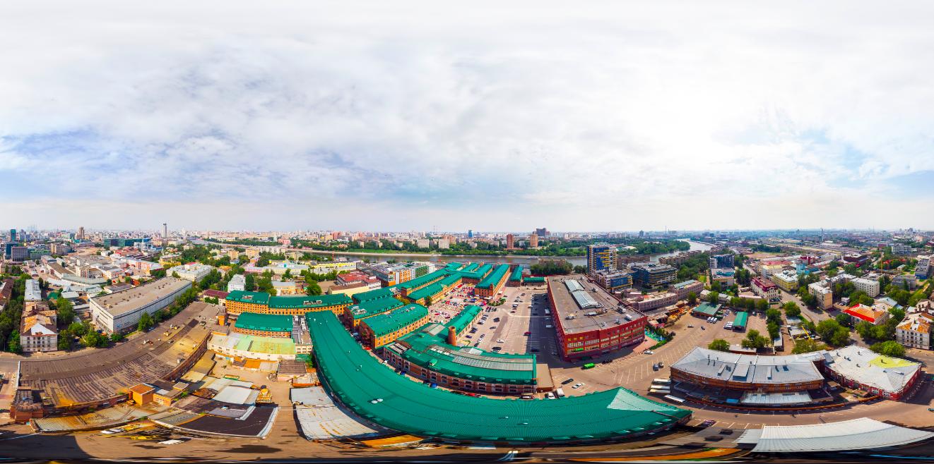 Как снять и «склеить» сферическую панораму на DJI Mavic Air - 17