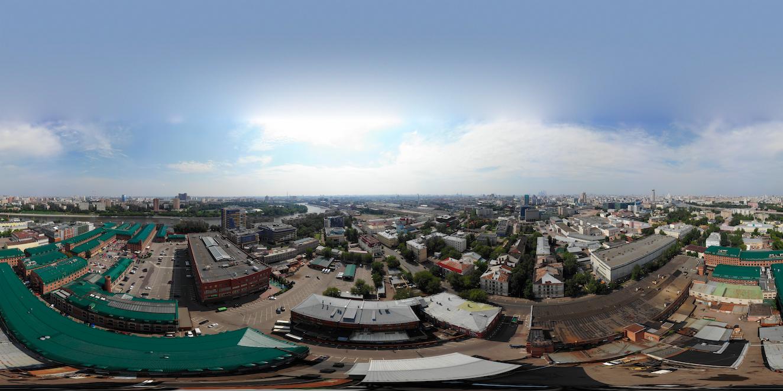 Как снять и «склеить» сферическую панораму на DJI Mavic Air - 2