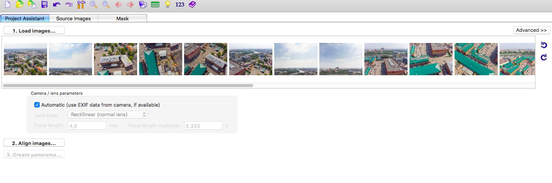 Как снять и «склеить» сферическую панораму на DJI Mavic Air - 6