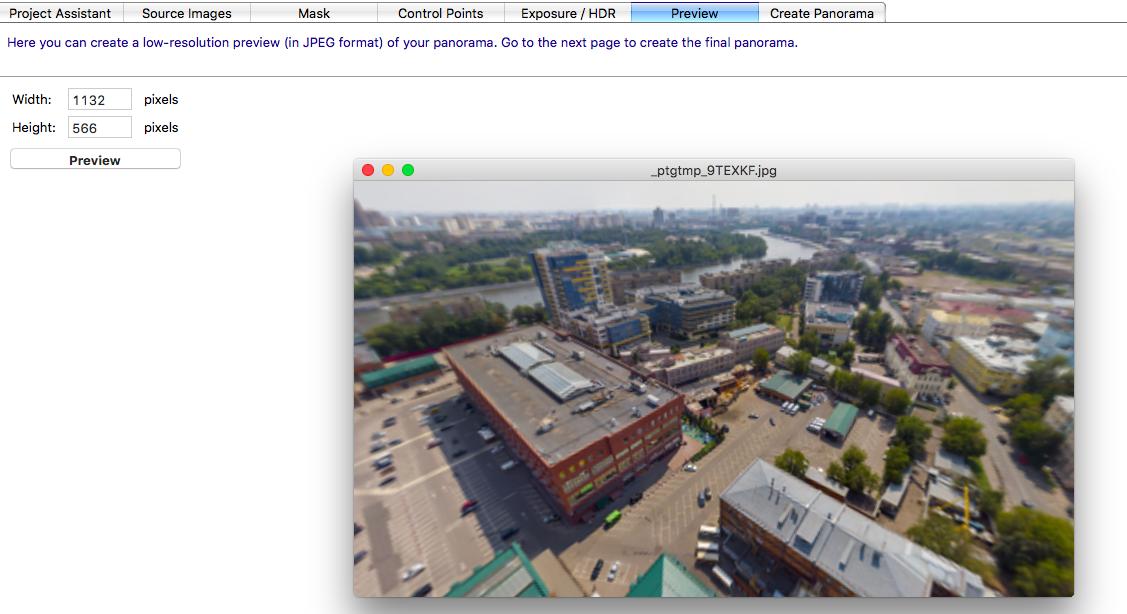 Как снять и «склеить» сферическую панораму на DJI Mavic Air - 8