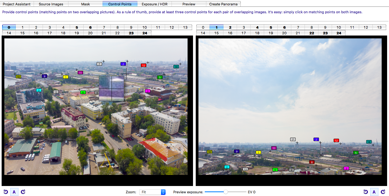 Как снять и «склеить» сферическую панораму на DJI Mavic Air - 9