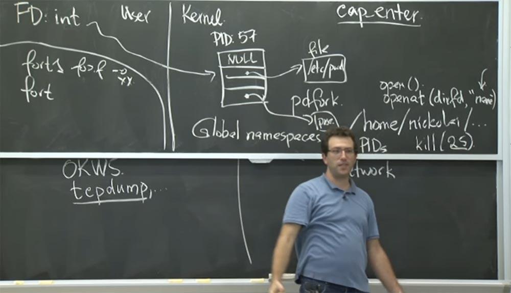 Курс MIT «Безопасность компьютерных систем». Лекция 6: «Возможности», часть 2 - 8