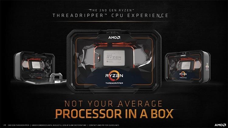 AMD открыла возможность предзаказа Ryzen Threadripper 2990WX
