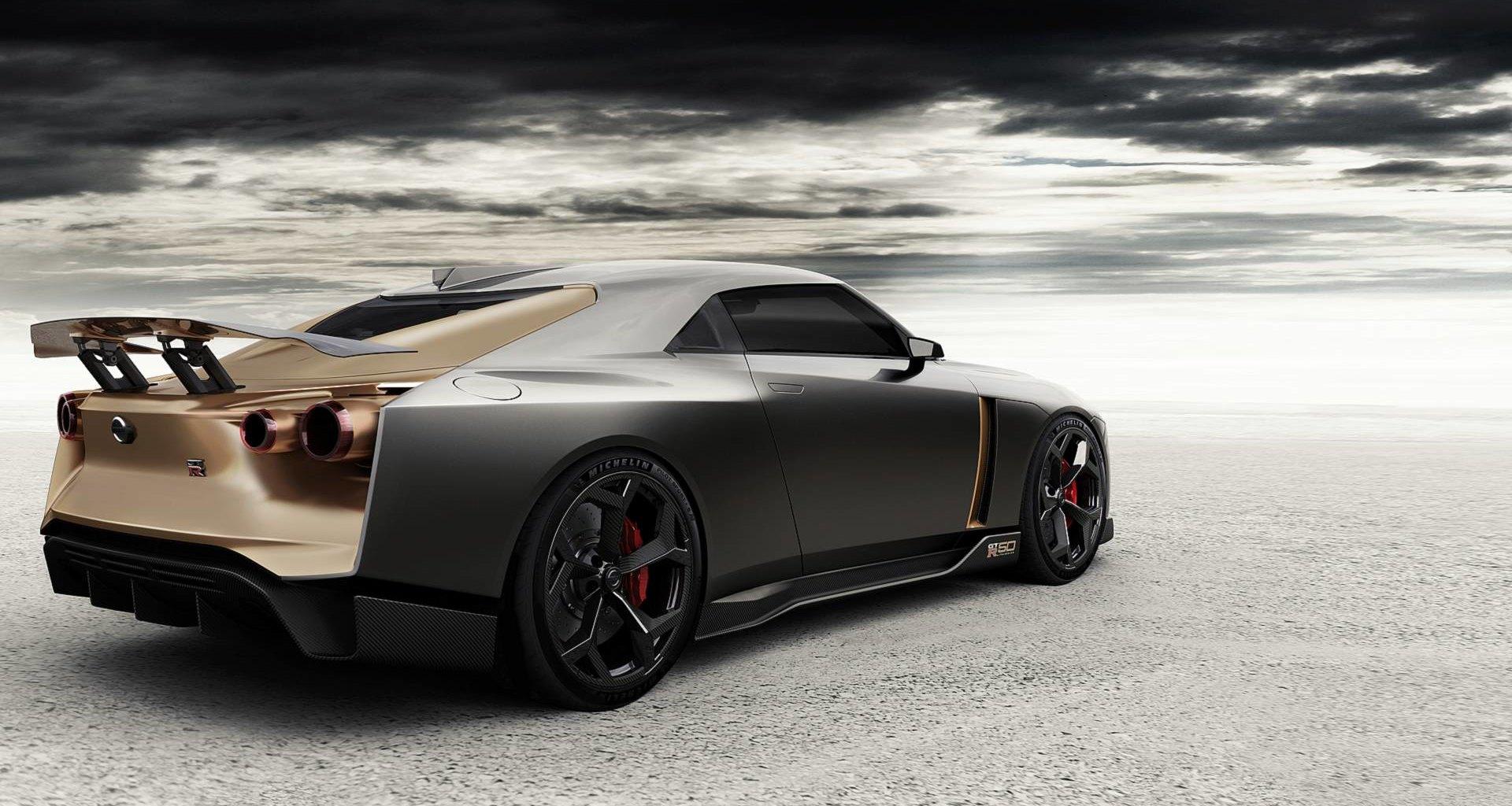 Nissan GT-R50 от Italdesign на трассе Спа-Франкоршам: видео