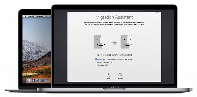 Переносить данные из Windows в macOS стало проще