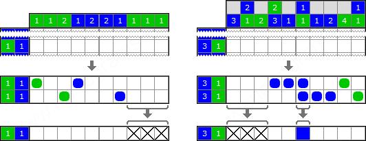 Решение цветных японских кроссвордов со скоростью света - 17
