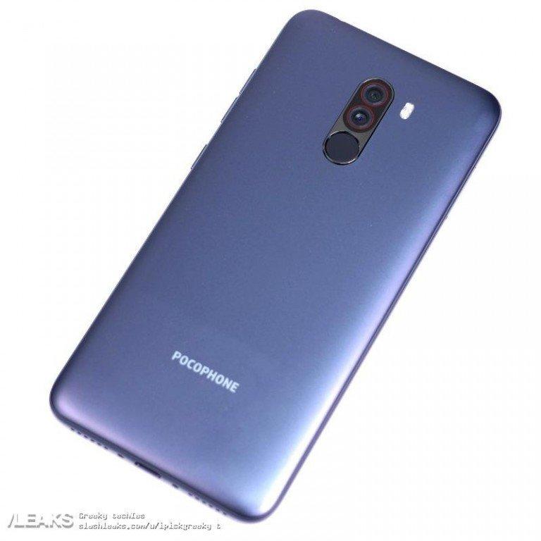 Смартфон Xiaomi Pocophone F1 с топовой SoC Snapdragon 845 получит пластиковую заднюю крышку - 2