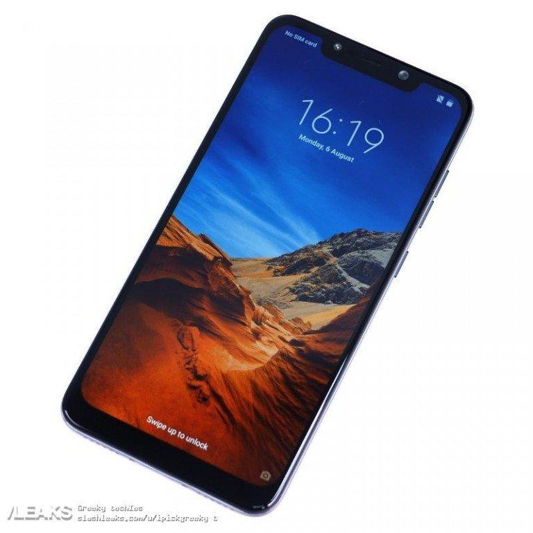 Смартфон Xiaomi Pocophone F1 с топовой SoC Snapdragon 845 получит пластиковую заднюю крышку - 1