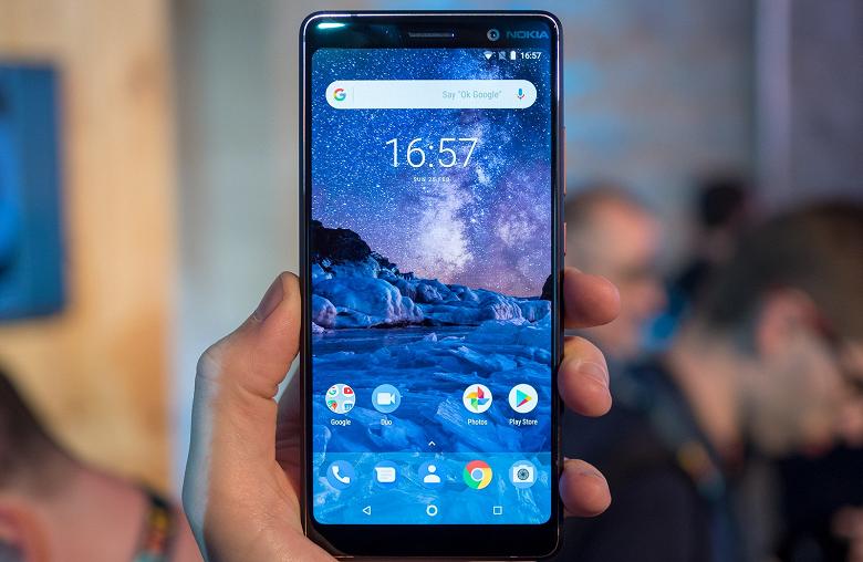 Прошивку смартфона Nokia 7 Plus обновили до Android 9.0 Pie