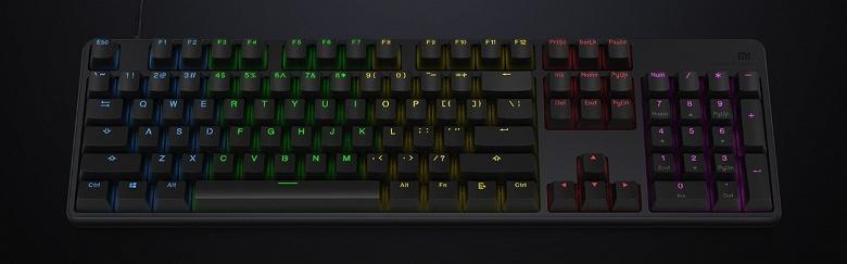 Xiaomi представила механическую игровую клавиатуру стоимостью всего 35 долларов