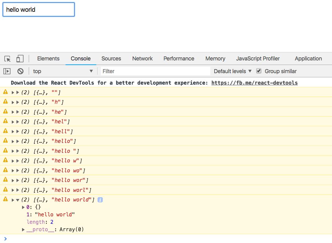 Как сделать поиск пользователей по GitHub используя React + RxJS 6 + Recompose - 6