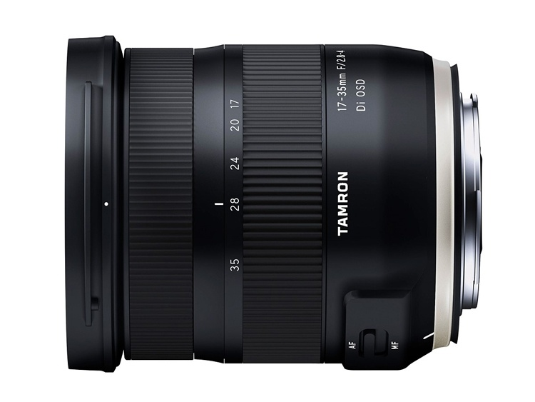 Объектив Tamron 17-35mm F/2.8-4 Di OSD рассчитан на камеры Canon и Nikon