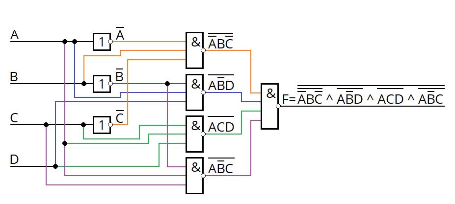 Пример проектирования цифрового устройства «на пальцах» - 12