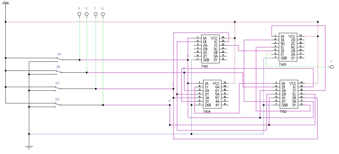 Пример проектирования цифрового устройства «на пальцах» - 18