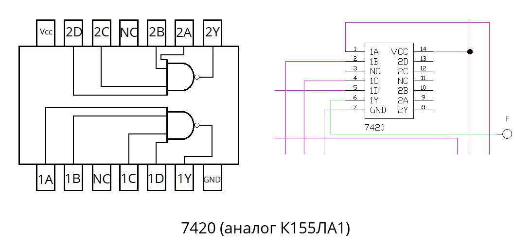 Пример проектирования цифрового устройства «на пальцах» - 21
