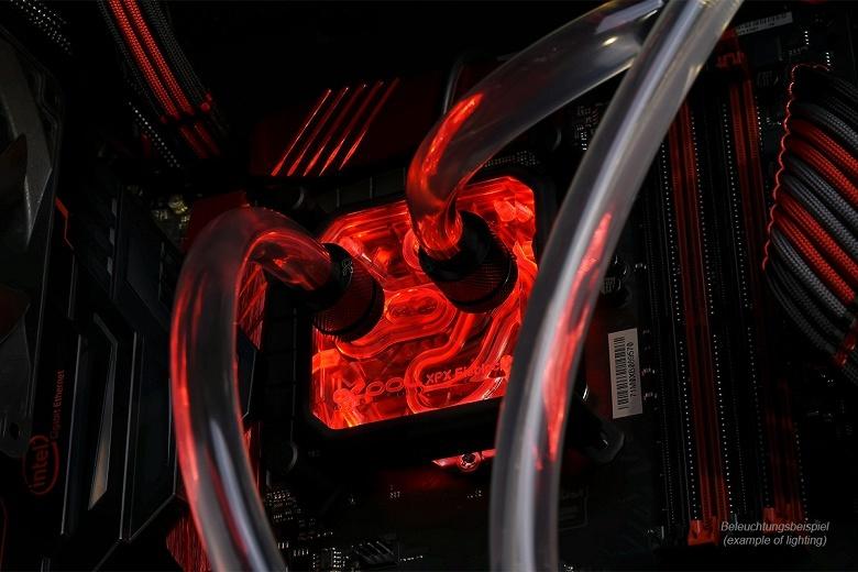Alphacool Aurora XPX RGB-LED Frame и HardTube RGB-LED Ring позволяют украсить систему жидкостного охлаждения светодиодной подсветкой
